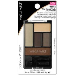 Wet n wild coloricon shadow pallet naked truth - 3 ea