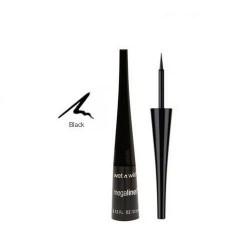Wet n wild megaliner liquid eyeliner, black - 3 ea
