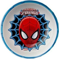 SPIDERMAN 5.5IN MEL BOWL W-RIM - 3 ea