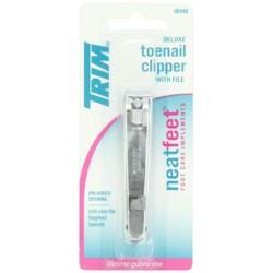 Trim neatfeet deluxe toenail clipper - 6 ea