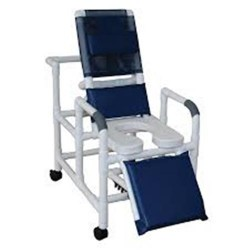 MJM International Reclining Shower Chair, 193-SSDE - 1 ea