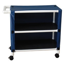 MJM international Cart With Two Shelves, 332-2C- 1 ea