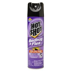 Hot shot bedbug and flea killer spray - 17.5 oz