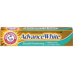 Arm and hammer advance white breath freshening toothpaste baking soda - 6 oz