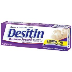 Desitin diaper rash maximum strength, original paste - 4 oz