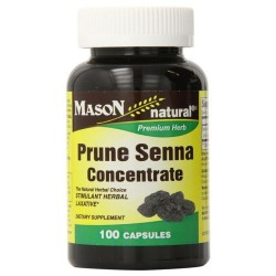 Mason Natural Prune Senna Concentrate Capsules - 100 Ea