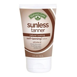 Natures gate sunless tanner self tanning lotion - 4 oz