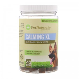 Pet Naturals of Vermont calming XL for extra large dogs chews - 40 ea