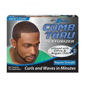 S curl comb thru texturizer, regular - 3 ea