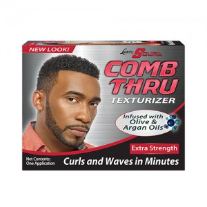 Luster's s curl comb thru texturizer extra strength - 3 ea