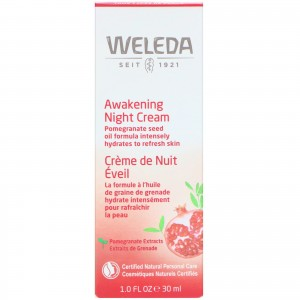 Weleda pomegranate firming night cream - 1 oz