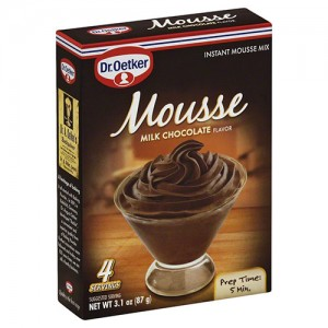 Dr Oetker mousse milk chocolate - 3.1 oz