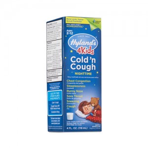 Hyland's four kids cold n cough nighttime ages 2 - 12 - 4.0 oz