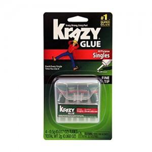 Krazy glue all purpose singles fine tip - 0.017 oz