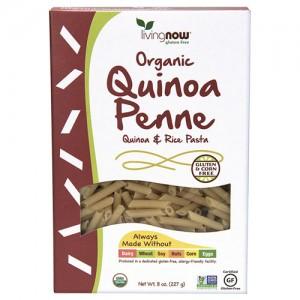 Now Foods real food organic quinoa penne quinoa & rice pasta - 8 oz