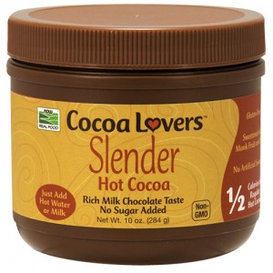 Now Foods slender hot cocoa - 10 oz
