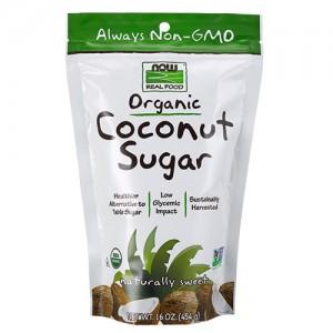 Now Foods real food organic coconut sugar - 16 oz