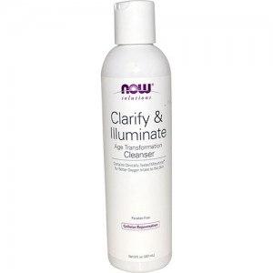 Now foods clarify and illuminate cleanser - 8 oz