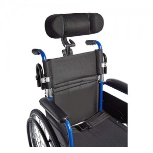 HEADREST W/ADJ MOUNTING BRACKET, WHEELCHAIR - 1 ea