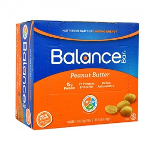 Balance peanut butter nutrition bar - 1.76 oz, 6 pack