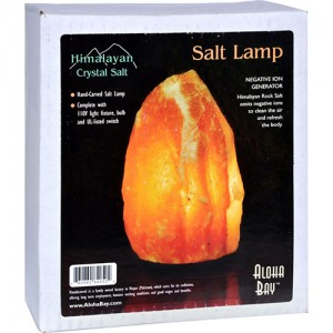 Aloha bay himalayan crystal salt lamp - 1 ea