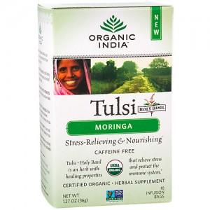 Organic India tulsi moring tea bags - 18 ct