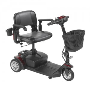 Drive Medical Spitfire EX2 3-Wheel Travel Scooter