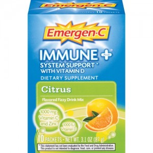 Emergen-C immune plus system support with vitamin D citrus - 10 Packets