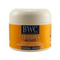 Bwc vitamin c with coq10 renewal moisturizer - 2 oz
