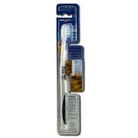 Ecodent terradentdult 31 toothbrush refill medium with replaceable brush head - 1 ea ,6 pack