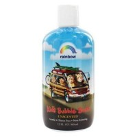 Rainbow research kids bubble bath unscented - 12 oz