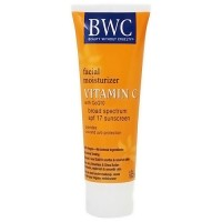BWC Vitamin C with CoQ10 Facial Moisturizer sunscreen, SPF 12 - 4 oz