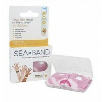 Sea band child medical  wrist band pink - 1 pair