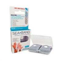 Sea Band Natural Choice For Travel Morning Sickness Nausea - 1 pair