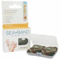 Sea band - child wrist band camouflage - one pair