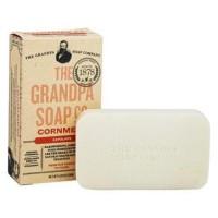 Grandpas soap co face and body bar soap cornmeal - 4.25 oz.