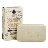 Grandpas soap co face and body bar soap oatmeal - 4.25 oz.