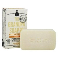 Grandpas soap co face and body bar soap buttermilk - 4.25 oz.