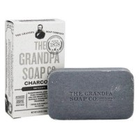 Grandpas soap co face and body bar soap charcoal - 4.25 oz.