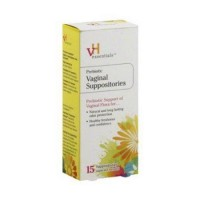 Vh essentials prebiotic vaginal suppositories - 15 Ea