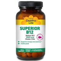 Country life superior b-12 sublingual berry flavored - 50 ea