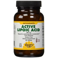 Country life active lipoic acid sustain release tablets  - 60 ea
