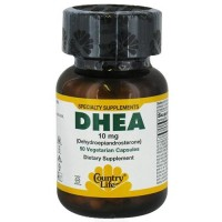 Country life vitamins dhea 10mg vegetarian capsules  - 50 ea
