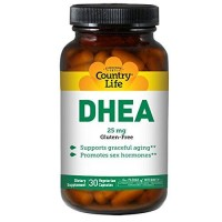 Country life dhea 25 mg vegetarian capsules  - 30 ea