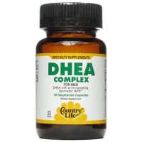 Country life dhea complex for men vegetarian capsules  - 60 ea