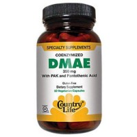Country Life DMAE 350 mg with Pantothenic Acid - 50 ea