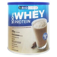 Biochem 100% whey protein powder chocolate flavor  - 30.4 oz