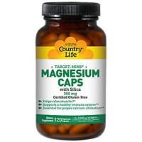 Country life magnesium 300 mg caps, gluten free - 120 ea