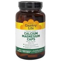 Country life  target mins calcium magnesium caps  - 180