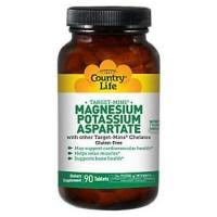 Country life Magnesium potassium aspartate - 90 ea